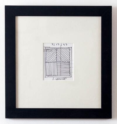 Sol LeWitt, 'Cube', 1993