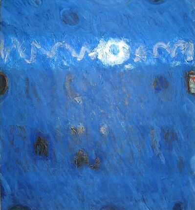 Lawrence Calcagno, 'Blue Painting', 1971