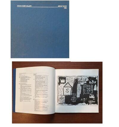 "Jean-Michel Basquiat, '""Annina Nosei Gallery- Group Show, 1983"", Exhibition Catalogue, Annina Nosei Gallery NYC', 1983"