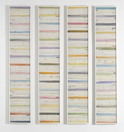 Alejandra Padilla, 'Cuatro Modulos - Series Papiros', 2001