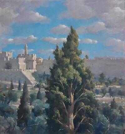 Ilan Baruch, 'The Old City Walls', 2018