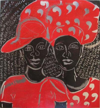 Sokari Douglas Camp, 'Son and Mum  '
