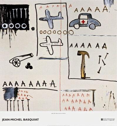 Jean-Michel Basquiat, 'Untitled (1981) exhibition poster', 2002
