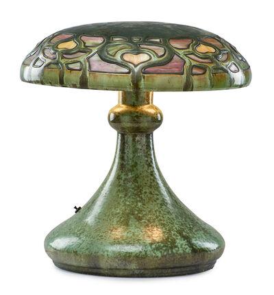 Fulper Pottery, 'Fine and rare Vasekraft lamp, Leopard Skin Crystalline glaze', 1910s