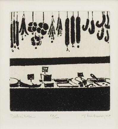 Wayne Thiebaud, 'Delicatessen', 1964