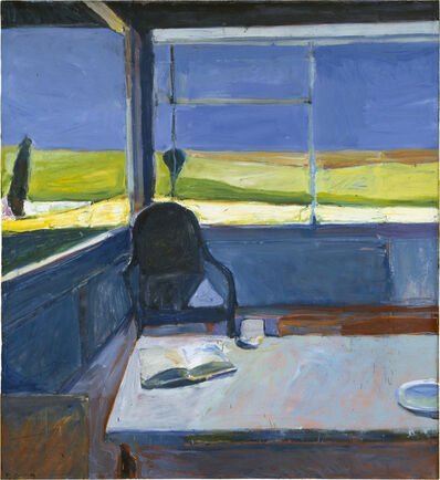 Richard Diebenkorn, 'Interior with Book', 1959