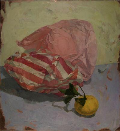 Benjamin J. Shamback, 'Satsuma with Pink Paper', 2017