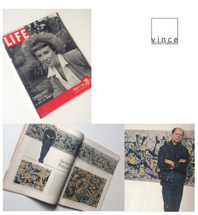 "Jackson Pollock, '""Jackson Pollock: is he the Greatest Living Painter in the United States ?"", 1949, LIFE Magazine,', 1949"