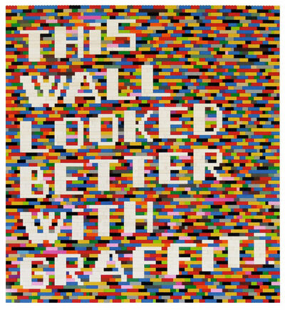LENZ, 'THIS WALL LOOKED BETTER WITH GRAFFITI ', 2014