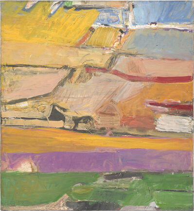 Richard Diebenkorn, 'Berkeley #52', 1955