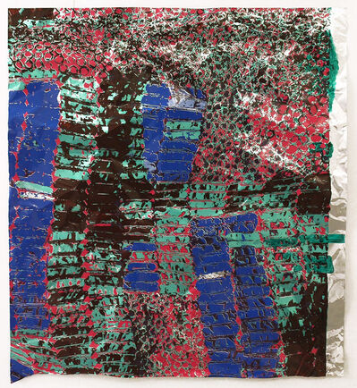 El Anatsui, 'Untitled (with Green) ', 2015