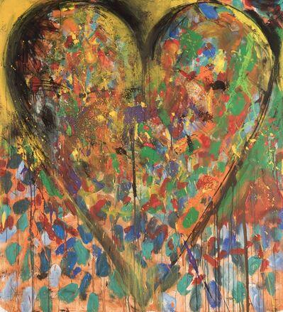 Jim Dine, '5 Gottingen songs - N 2 (Cohen)', 2008