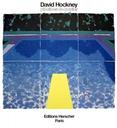 David Hockney, 'Paper Pools - Piscines de Papier -David Hockney', 1980