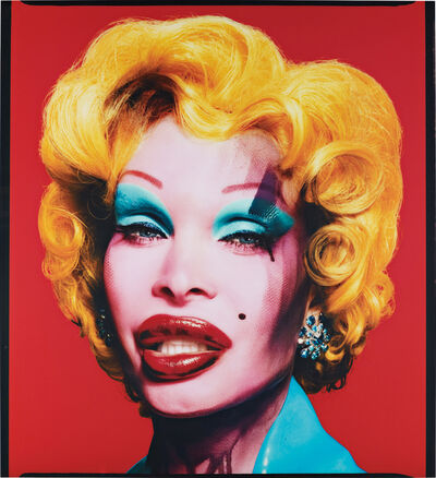 David LaChapelle, 'Amanda as Marilyn (Red)', 2007