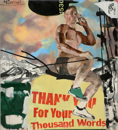 Jack Balas, 'THANK YOU FOR YOUR THOUSAND WORDS', 2017