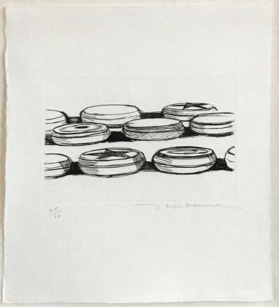 Wayne Thiebaud, 'Yo Yo's', 1962