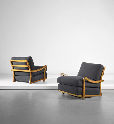 Luigi Vietti, 'Pair of armchairs', circa 1930