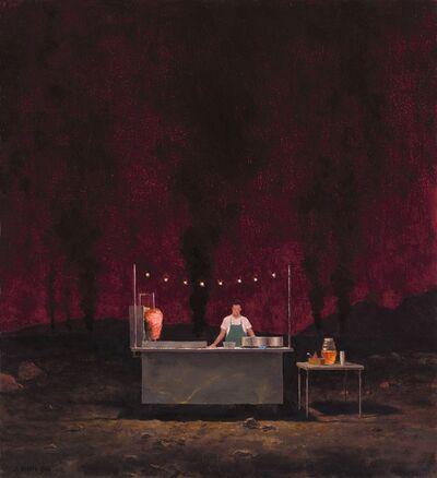 John Brosio, 'Tacos in Hell', 2018