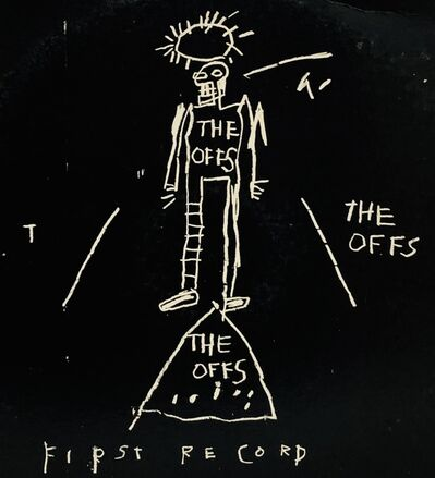 Jean-Michel Basquiat, 'Basquiat The Offs ', 1984