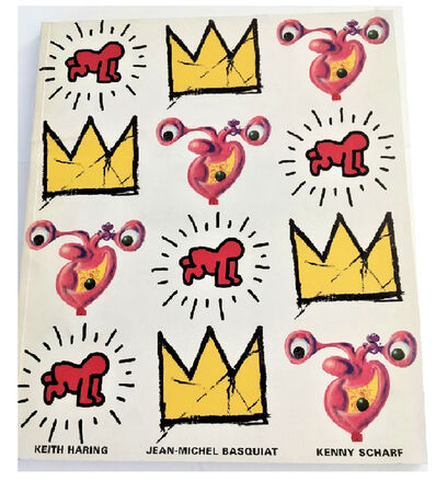 "Keith Haring, '""IN YOUR FACE"", 1997, exhibition catalogue, Malca Fine Art NY', 1997"