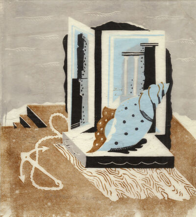 Ronald Grierson, 'Still Life with Anchor and Shell', ca. 1930