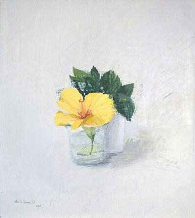 Alberto Romero, 'Realism - flower still life - Oil on panel - flower', 2018