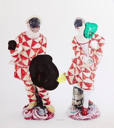 Markus Hanakam & Roswitha Schuller, 'A Pair of Doccia Figures of Harlequin and Columbine', 2016
