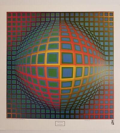 Victor Vasarely, 'Vega Noir', 1977