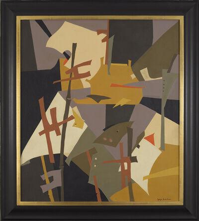 Esphyr Slobodkina, 'Japanese Abstraction', 1950s