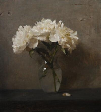 """Michael Klein, '""""White Peonies""""', 2015"""