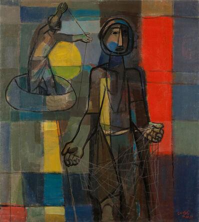 Faiq Hassan, 'Fisherman', 1958