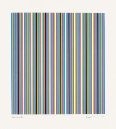 Bridget Riley, 'Brouillard', 1981-2003