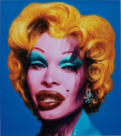 David LaChapelle, 'Amanda as Marilyn (blue)', 2007