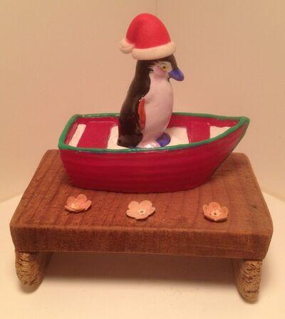 Robin Ragin, 'Santa Saves A Penguin', 2014