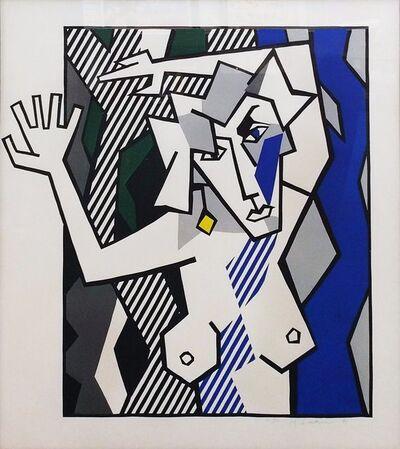 Roy Lichtenstein, 'NUDE IN THE WOODS', 1980