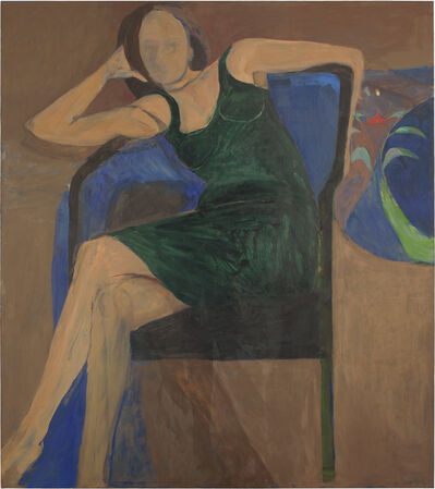 Richard Diebenkorn, 'Large Woman', 1967