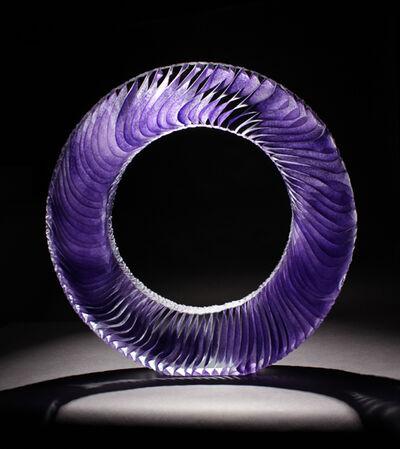 Colin Reid, 'Colour Saturation: Purple Ring', 2016