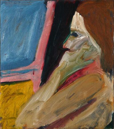 Richard Diebenkorn, 'Girl in Profile', 1962