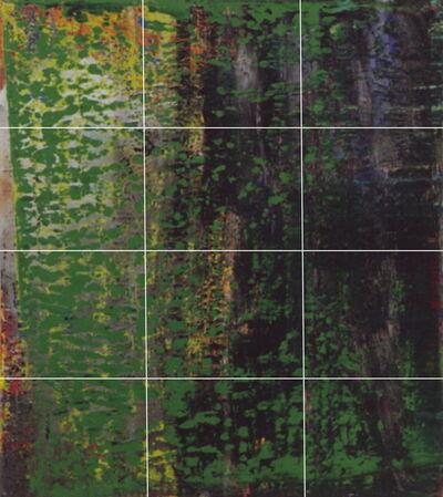 Greg Allen, 'Destroyed Richter Grid N.2  A-L (12)', 2016