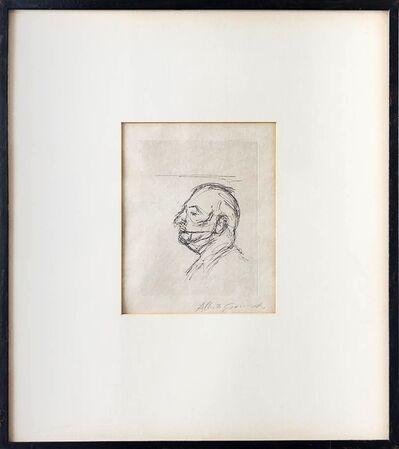 Alberto Giacometti, 'Portrait of Orbandale', 1962