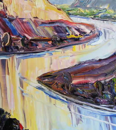 Robert Reynolds, 'River From Above', 2017