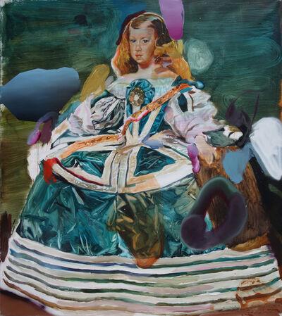 Pascal Vilcollet, 'Green Menine', 2017