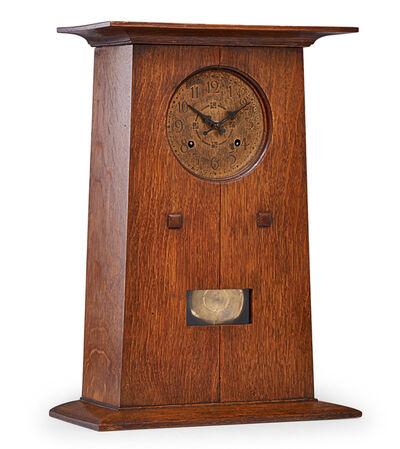 Peter Hansen, 'Rare mantel clock, Fayetteville, NY', ca. 1910