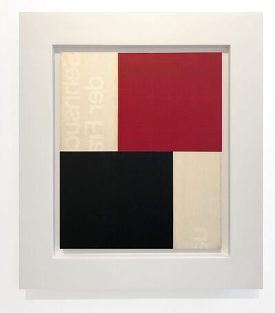 Robert Kelly, 'Nocturne Rouge et Noir IV', 2018