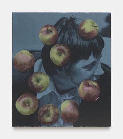 Oliver Osborne, 'Monochrome Merkel with apples', 2018