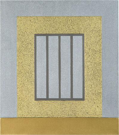 Peter Halley, 'Gold Prison', 1999