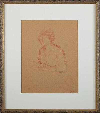 Georges d'Espagnat, 'Buste de Jeune Femme', ca. 1900