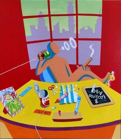 Mark Kostabi, 'JUNIOR EXECUTIVE', 1991