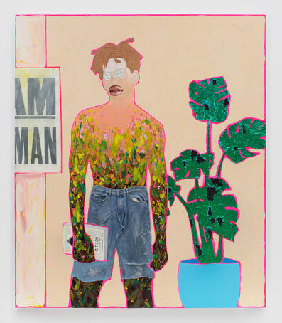 Devan Shimoyama, 'A Man and a Brother', 2019