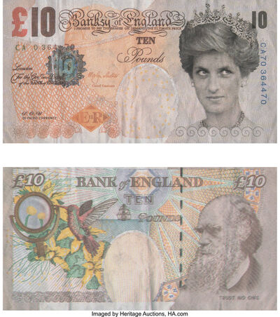 After Banksy, 'Di-Faced Tenner, 10 GBP Note', 2005